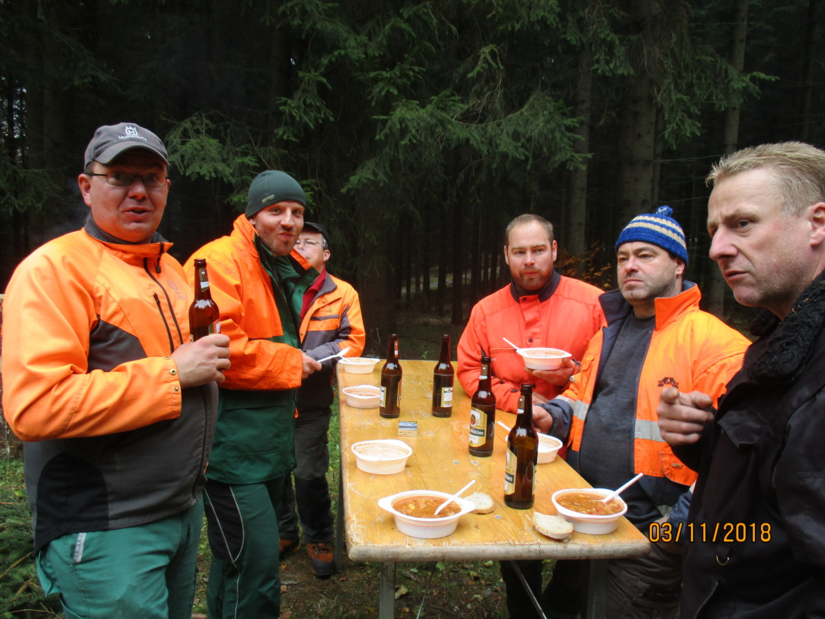 Hubertusjagd 2018