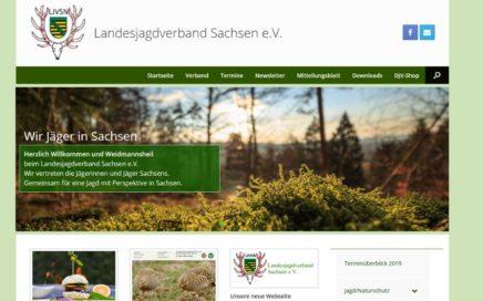 LJV Sachsen Neue Webseite